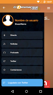 El Desmarque Radio- screenshot thumbnail