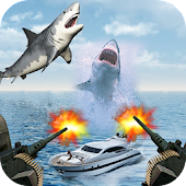 Shark Shooting World Simulator