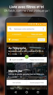 Schlouk Map - La Carte des Bars et des Happy Hours – Vignette de la capture d'écran
