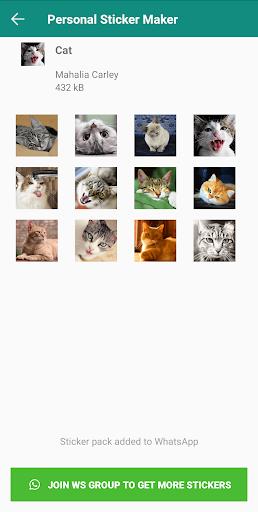 Personal Stickers screenshot 5