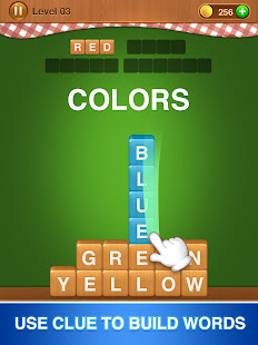Word Fall - Brain training search word puzzle game