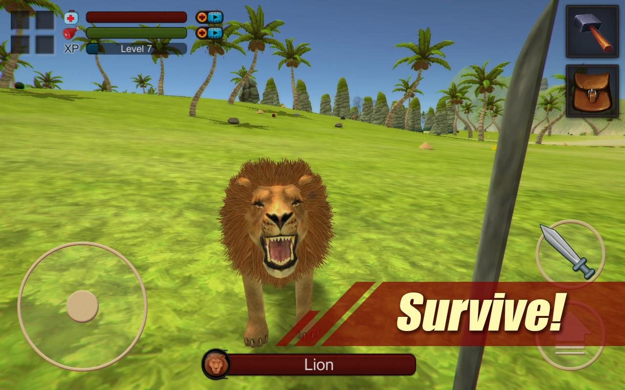 Survival Simulator 3D Pro- screenshot