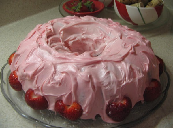 Bake at 350^ for about 40 minutes or until tested done with toothpick. Let...