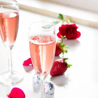 Valentine Strawberry And Cream Crepes