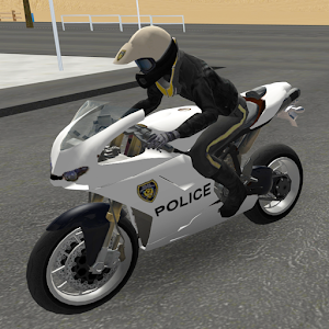 Police Motorbike Road Rider for PC and MAC