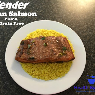 Tender Asian Salmon - Paleo, Grain Free