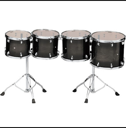 Tama Consert Tom Tom set - Low Pitch - CCLT4L-TPB