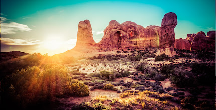 """Photo: Now traveling through Moab, Utah... what a place this is... full of geological spectacles at every turn! :)  If you're wondering what Lightroom Preset this is -- it is """"Sunday Alone Time"""" from pack #8! :)"""