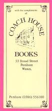 Photo: Coach House Books