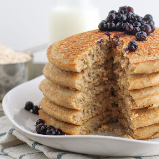 Oat Flour Pancakes Recipe