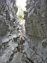 Photo: The box canyon near the upper end of Neat Coulee