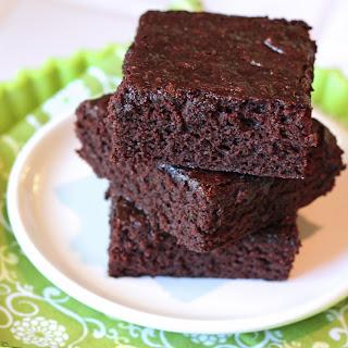 Gluten Free Vegan Brownies.