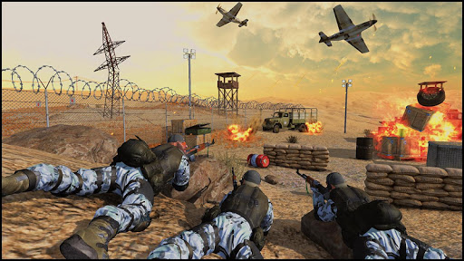 Call of World War Shooter: Free Shooting War Duty Varies with device screenshots 8