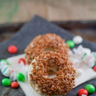 The Mistletoe | Kahlua & Skor Baked Donut