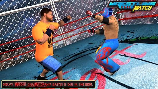 Wrestling Cage Match : Wrestling Mania Revolution Hack