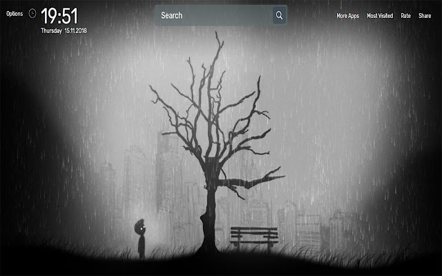 Limbo Game Wallpapers NewTab Theme