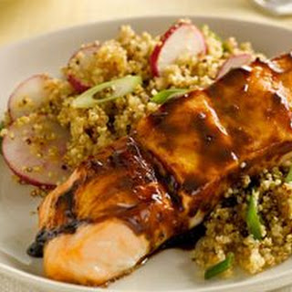 Hoisin-Glazed Salmon with Quinoa