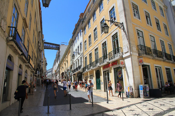 Площадь Dom Pedro IV, Lisboa