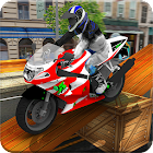 Extreme Tricky Bike Rider - Impossible City Tracks icon