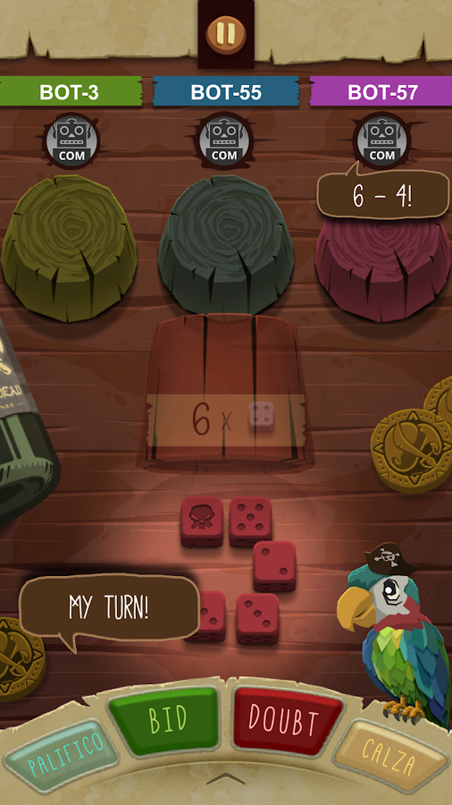 Pirate's Dice- screenshot
