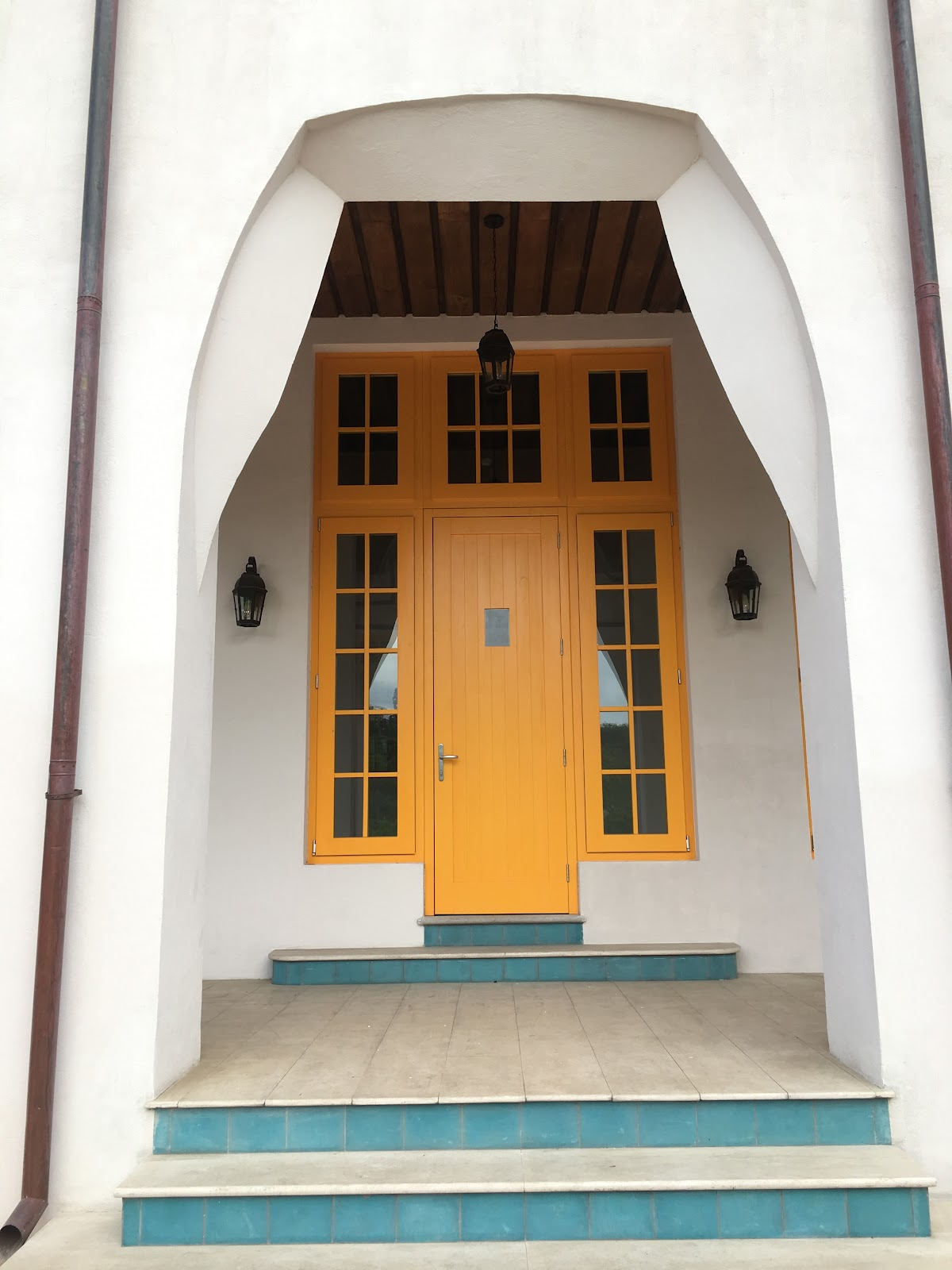 Copper & Stone Front Doore