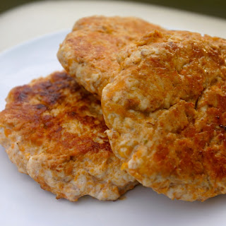 Sweet Potato Chicken Burgers.