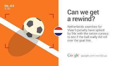 Photo: So close but no goal for Vlaar. #BRAvsNED #GoogleTrends http://goo.gl/Fxad0A