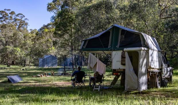 King River campsite