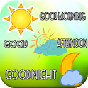Good Morning, Afternoon, Night icon