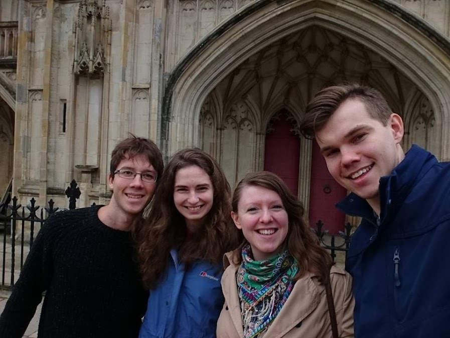 The four of us in Winchesster.