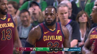 Cleveland at Boston, Game 2 from 05/15/2018