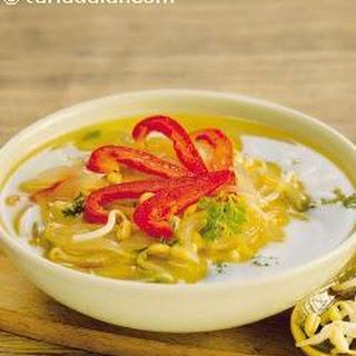 Bean Sprouts Soup.