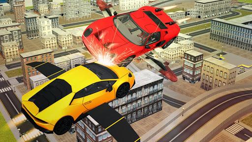 Flying Sport Car Simulator2016