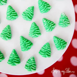 Holiday Cream Cheese Mints.