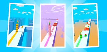 Jugar a Cube Surfer! gratis en la PC, así es como funciona!