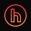 Horux Black - Round Icon Pack icon