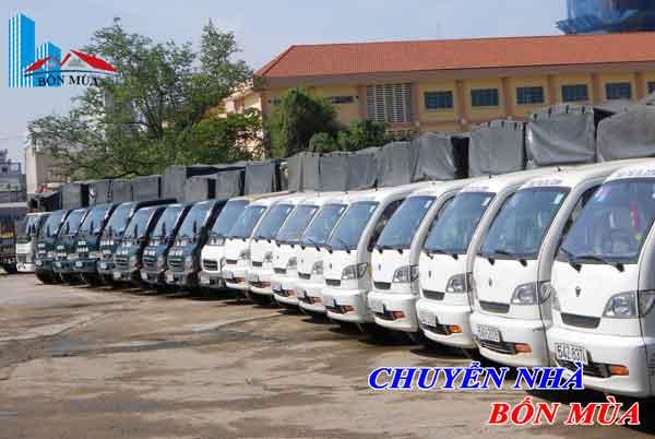 dịch vụ taxi tải chuyển nhà bốn mùa