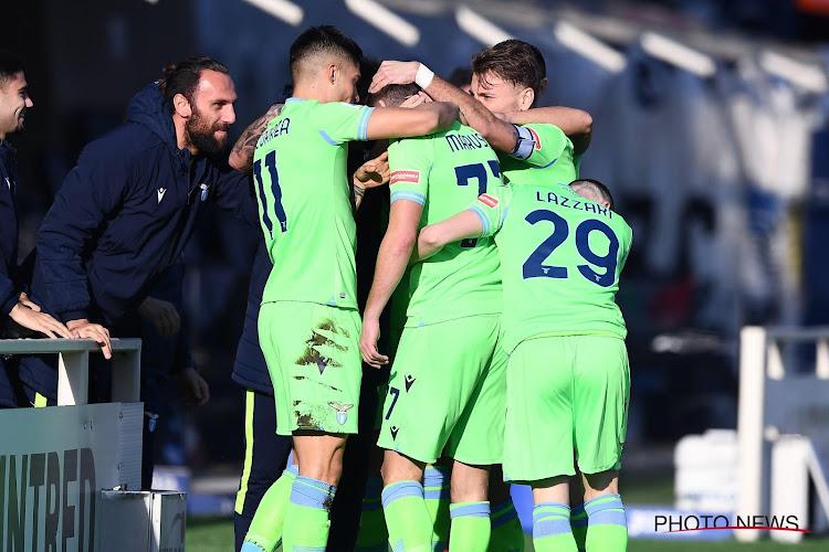 Serie A : la Lazio remporte son duel face à l'Atalanta, Boga vexe le Cagliari de Nainggolan