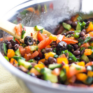 Loaded Black Bean Salad