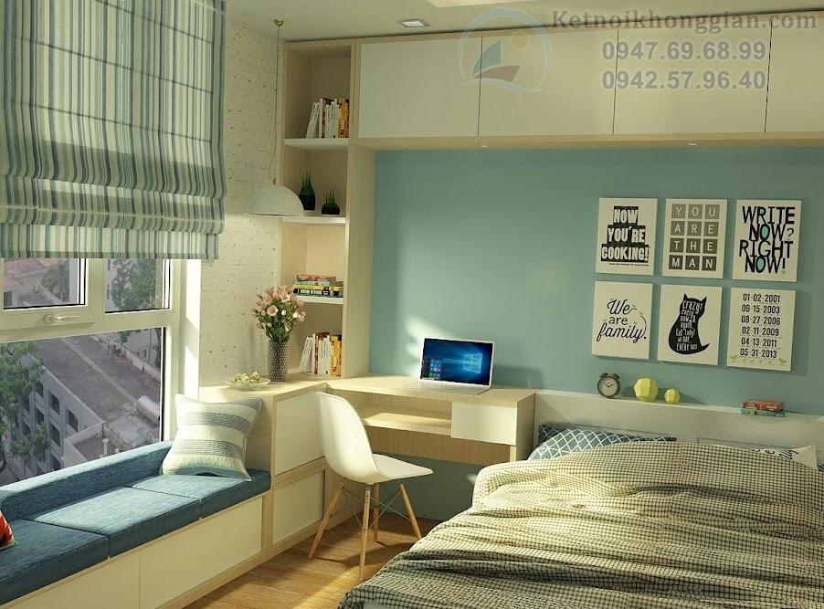 thiết kế phòng ngủ lý tưởng