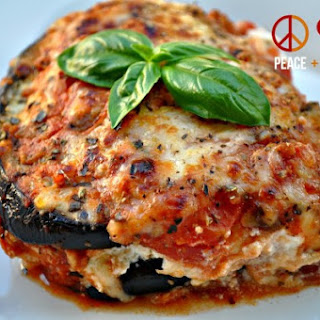 Eggplant Lasagna with Meat Sauce – Low Carb, Gluten Free.