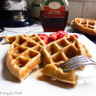 Maple Yogurt Waffles