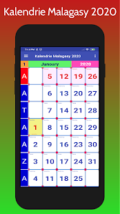 Kalendrie Malagasy 2020 for PC-Windows 7,8,10 and Mac apk screenshot 6