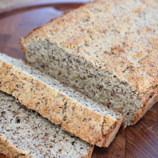 All Natural Low Carb Gluten Free Bread.