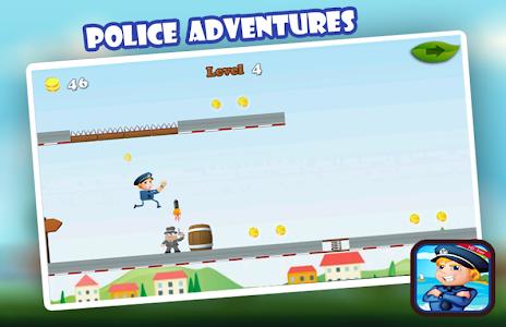 Police Jumper : Adventure Game screenshot 0