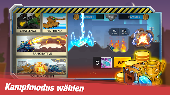 Tank Heroes - Tank Games Screenshot