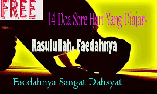 14 Doa Sore Hari Yang Diajarkan Rasulullah Lengkap - náhled