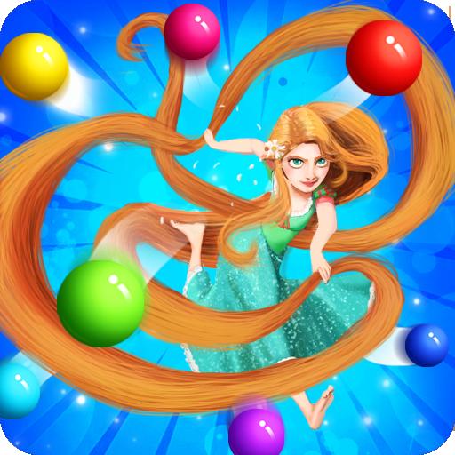 Long Hair Princess Bubble