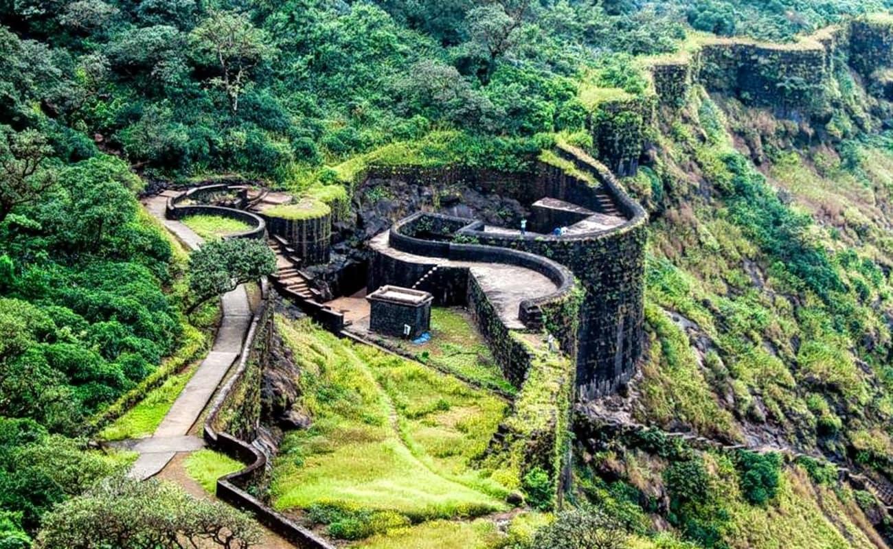 Raigad fort trek near Mumbai