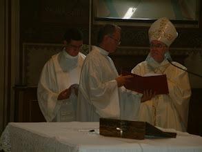 Photo: L'Abate Dom Luigi Crippa osb ha presieduto il solenne rito